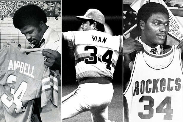 Earl Campbell, Nolan Ryan and Hakeem Olajuwon are slated to appear at the inaugural Houston Sports Awards on Thursday night at the Hilton Americas.