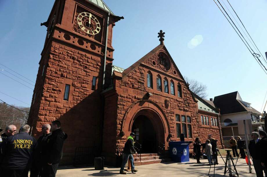 The Ansonia Public Library, in Ansonia, Conn. March 6, 2017. The library opened in 1891. Photo: Ned Gerard / Hearst Connecticut Media / Connecticut Post