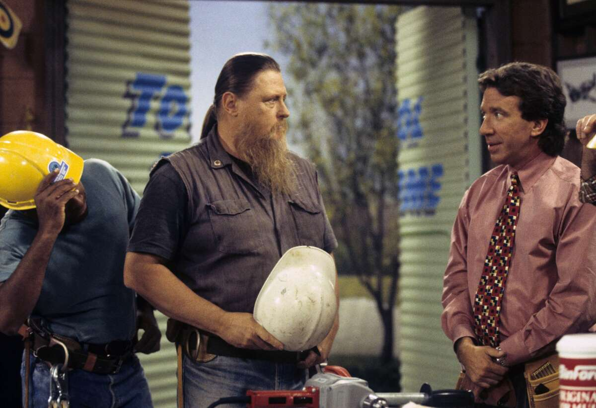 Mickey Jones and and Tim Allen in