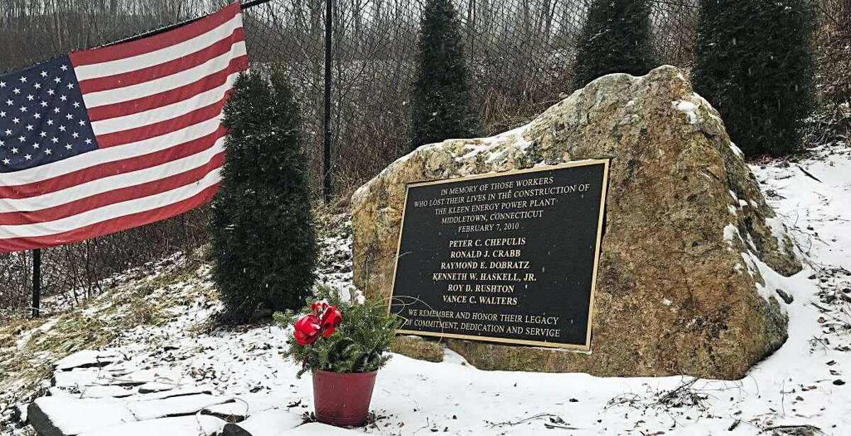 Ronald Crabb, 42, of Colchester; Kenneth Haskell, 37, of New Durham, New Hampshire; Chris Walters, 48, of Florissant, Missouri; Peter Chepulis, 48, of Thomaston; Raymond Dobratz, 58, of Old Saybrook, and Roy Rushton, 36, of Hamilton, Ontario, were killed Feb. 7, 2010, at Kleen Energy.