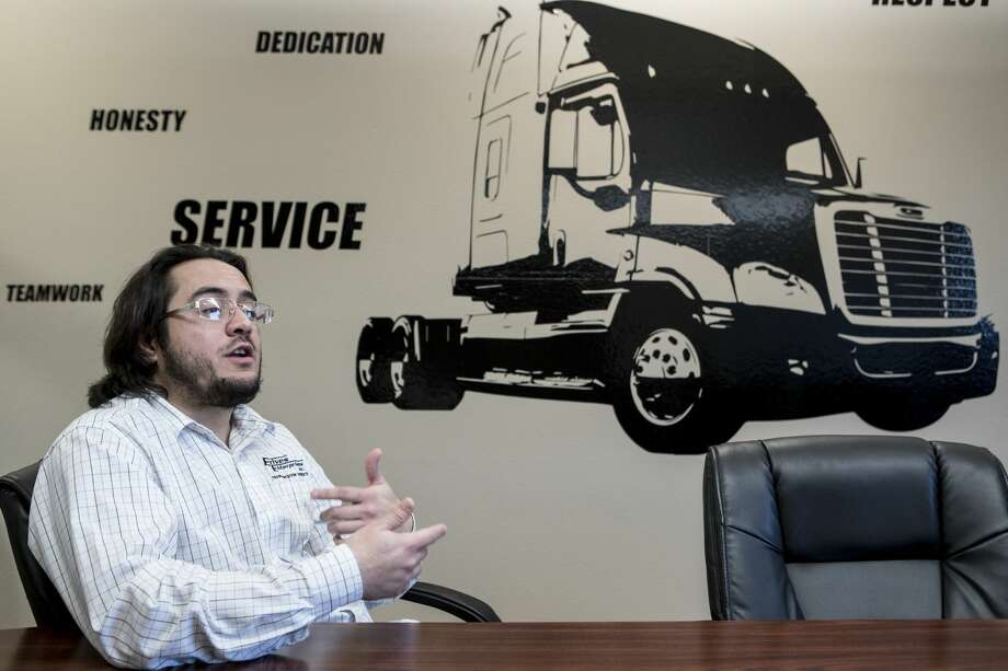 Angel Pone, sales representative at Erives Enterprises, talks about NAFTA during an interview at his office on Friday, Feb. 2, 2018, in El Paso, Texas. ( Brett Coomer / Houston Chronicle ) Photo: Brett Coomer/Houston Chronicle