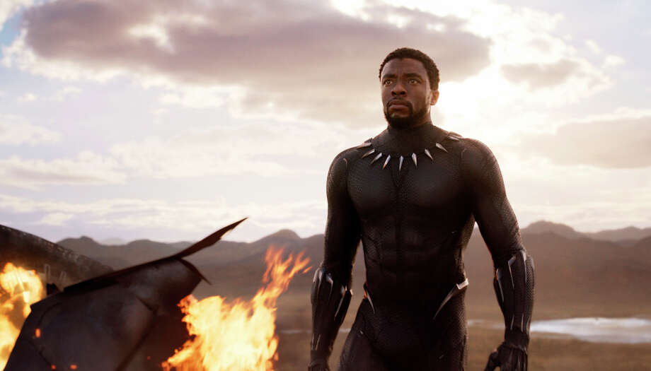 Houston Fans Are Pumped For Black Panther Superhero
