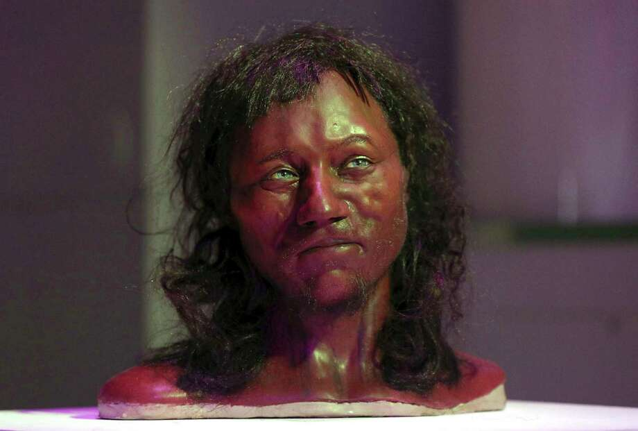 A DNA study recently revealed that ancient Britons had dark skin and blue eyes.See some of the best Tweets reacting to the discovery. Photo: Jonathan Brady, AP / PA