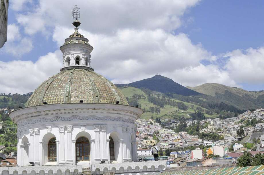 The beautiful La Merced Church houses a majestic statute of Our Lady of Mercy, which is said to have saved Quito from many volcanic eruptions and earthquakes. Photo: Courtesy Quito Turismo