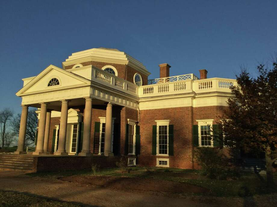 Thomas Jefferson's Monticello is a UNESCO World Heritage Site. Photo: Michelle Newman / For The Express-News