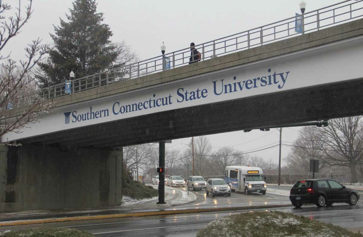 The Southern Connecticut State University campus on Wednesday, Feb. 7, in New Haven.