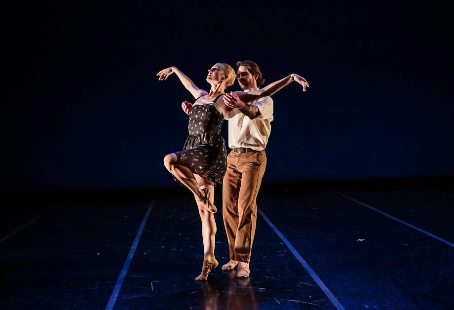 Smuin dancers Erica Felsch and Jonathan Powell. Photo: Chris Hardy