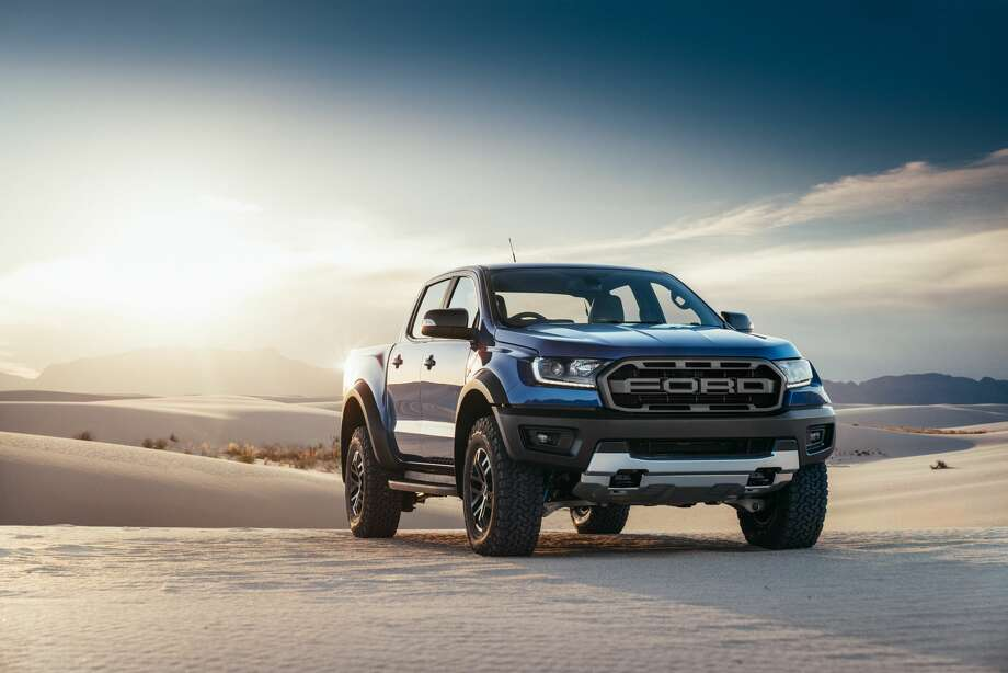 PHOTOS: The 2019 Ford Ranger Raptor   The Ranger Raptor has been purposefully-designed to incorporate Ford Performance DNA as well as the toughness of core Ranger design and engineering capability.   See more photos of the new Ford truck... Photo: Ford Motor Co.