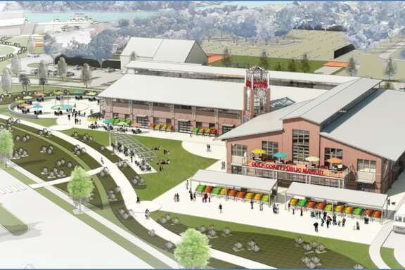 Gulf Coast Public Market, a facility that will feature a market, offices and other features is planned for Dickinson.