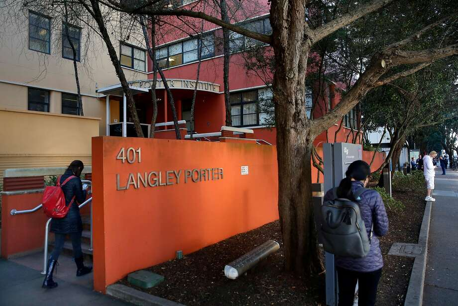 The UCSF Langley Porter Psychiatric Hospital will be torn down to make way for a new hospital funded by a $500 million gift from the Helen Diller Foundation. Photo: Michael Macor, The Chronicle