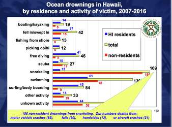 Mysterious Hawaiian snorkeling deaths may have one thing in