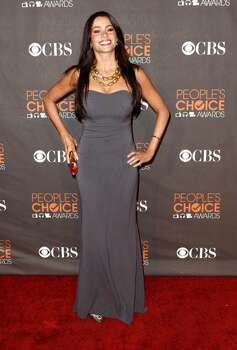 Sofia Vergara arrives at the People's Choice Awards on Wednesday Jan. 6, 2010, in Los Angeles. (AP Photo/Matt Sayles) Photo: Matt Sayles