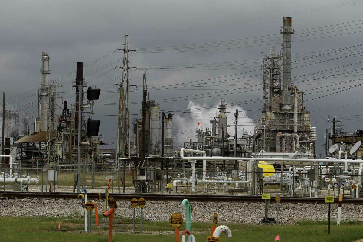 A refinery owned by Petrobras, the Brazilian government's state-controlled oil producer, rises up off Red Bluff Road Tuesday, Oct. 20, 2015, in Pasadena. Petrobras paid more than $1 billion to buy the refinery from Pasadena Refining Systems Inc. in a series of transactions dating to 2006, a much higher price tag than the $42 million Astra Oil paid a year before. There is an ongoing criminal probe into the Pasadena deal as part of a larger Brazilian investigation into Petrobras transactions and allegations of bribery. (Michael Ciaglo / Houston Chronicle)