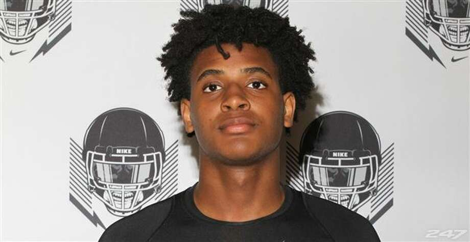 Ridge Point defensive end Nelson Ceaser. Photo: 247Sports
