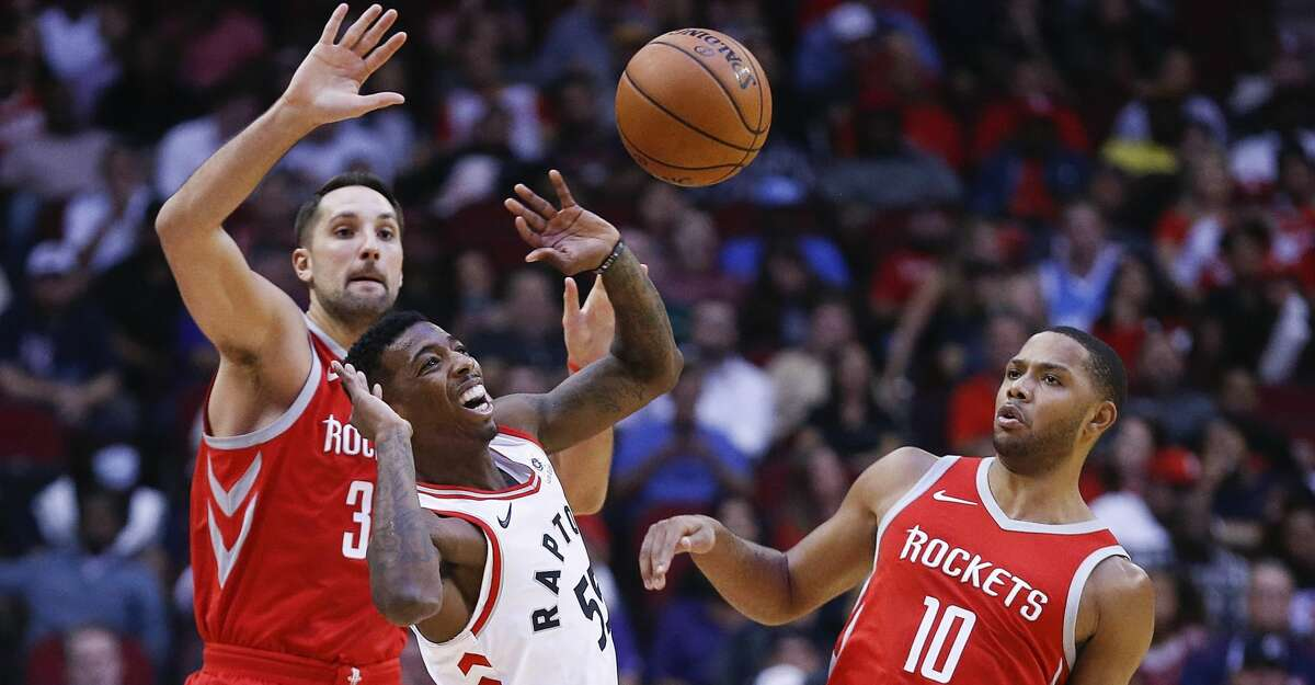 PHOTOS: Rockets game-by-game The Rockets went back to filling in around multiple injuries on Wednesday with starting power forward Ryan Anderson and sixth man Eric Gordon both ruled unavailable to play against the Heat. Browse through the photos to see how the Rockets have fared through each game this season.