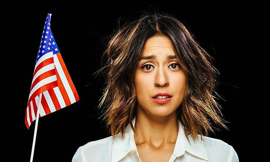 Francesca Fiorentini will emcee the evening of scathing political humor. Photo: Scott MacDonald