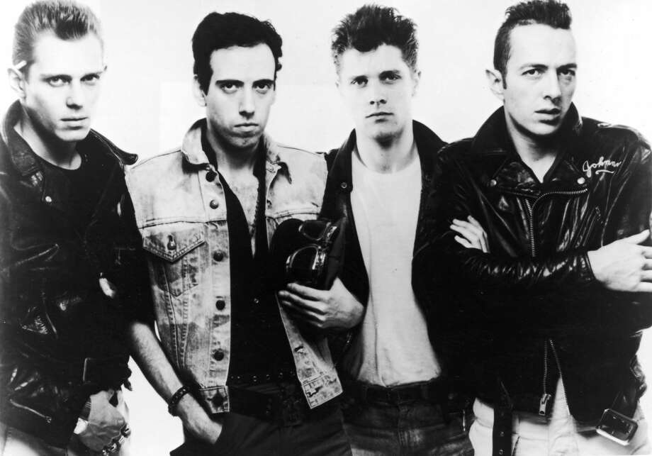 1983, Promotional portrait of British punk rock band The Clash. Left to right: Paul Simonon, Mick Jones, Pete Howard, and Joe Strummer (1952 - 2002). (Photo by Getty Images/Getty Images) Photo: Getty Images