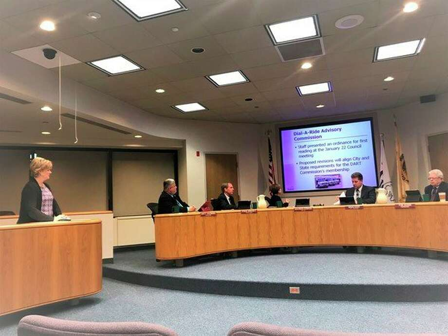 Membership requirements for the Dial-A-Ride commission were amended during a Monday, Feb. 5 Midland City Council meeting. (Kate Carlson/kcarlson@mdn.net)