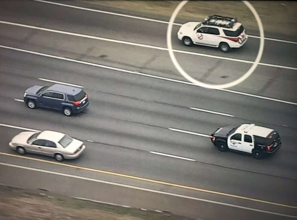 In February 2018, a chase involving the Fort Worth Police Department went viral after a Ghostbusters vehicle was spotted during the pursuit. Police were reportedly chasing after a man accused of stealing a car. READ MORE:Who you gonna call? Fort Worth police chase goes viral thanks to 'Ghostbusters'