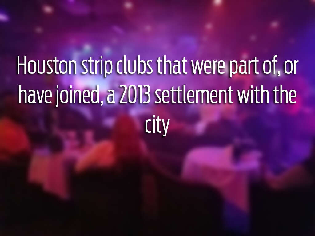 Undercover strip club sting involving lap dance from underage dancer in 2013 houston reached an agreement that allowed 16 strip clubs to operate outside the aloadofball Gallery