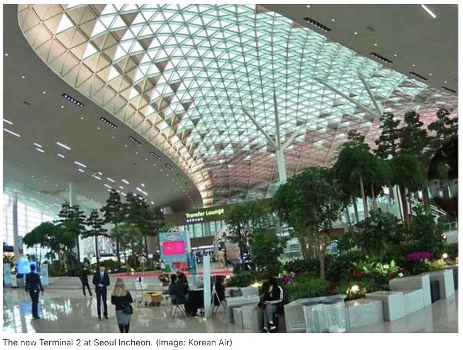 New Terminal 2 at Seoul Incheon International opens in time for the Olympics Photo: Korean Air
