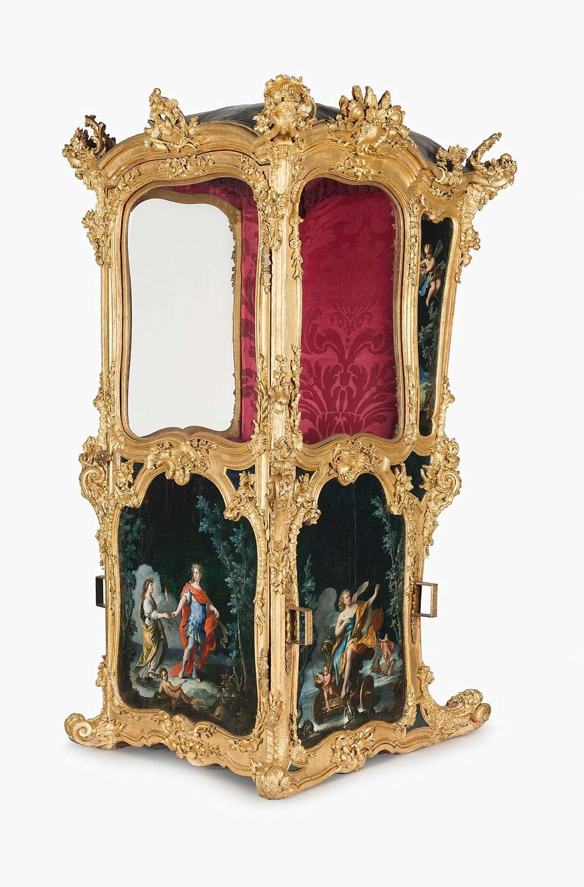 Sedan Chair, mid 18th century