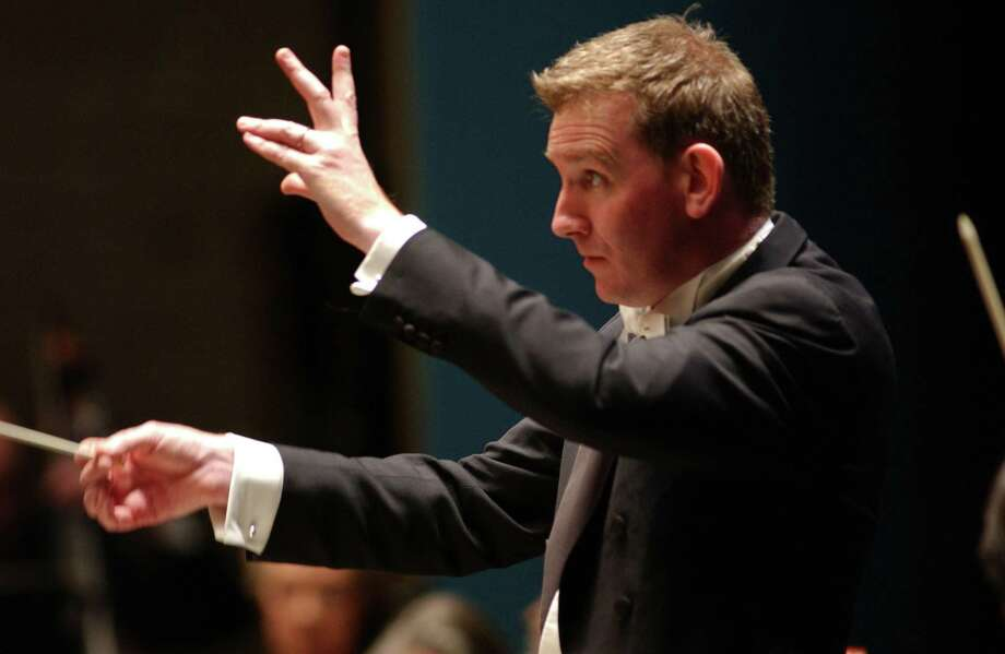 Alasdair Neale conducting. Photo: Courtesy Of NHSO