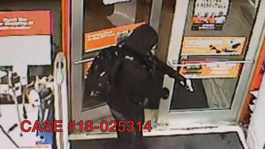 Police say the suspect entered the AutoZone in the 7500 block of Marbach Road around 10:15 p.m. and opened fire on the manager, striking him once in the chest. Photo: San Antonio Police Department