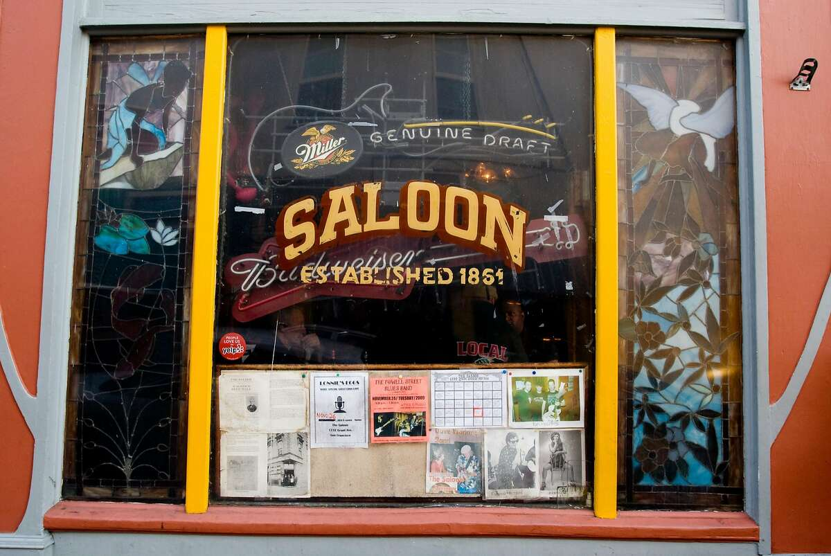 The Saloon, at 1232 Grant Ave and Fresno Alley, is one of the oldest bars in San Francisco, Calif.