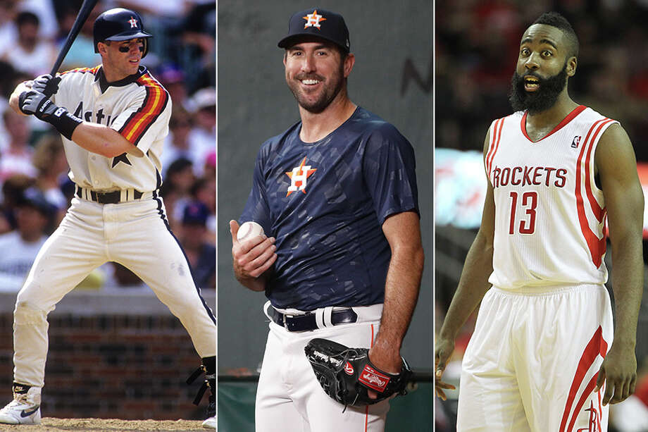 Jeff Bagwell, Justin Verlander and James Harden were all part of notable Houston trades.Click through the gallery to see where their deals ranked in Dale Robertson't top 10 trades by Houston teams. Photo: Karen Warren, Houston Chronicle (Verlander, Harden); Getty Images (Bagwell)