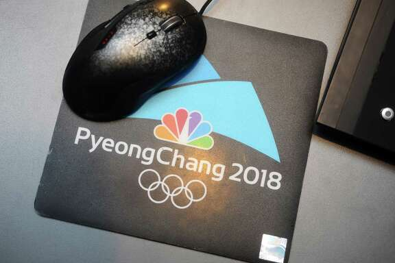 The NBC Sports headquarters is ready to host the Winter Olympics broadcast from PyeongChang, South Korea. Photographed in Stamford, Conn. on Monday, Jan. 29, 2018.