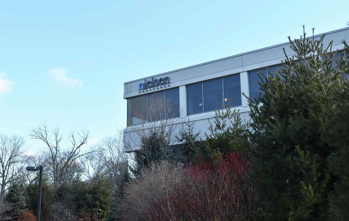 The corporate offices of Nielsen Holdings at 40 Danbury Road in Wilton, Conn., in February 2018.