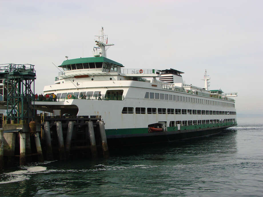The M/V Wenatchee, one of three Jumbo Mark II class ferries in the Washington State Ferries system. Photo: WSDOT