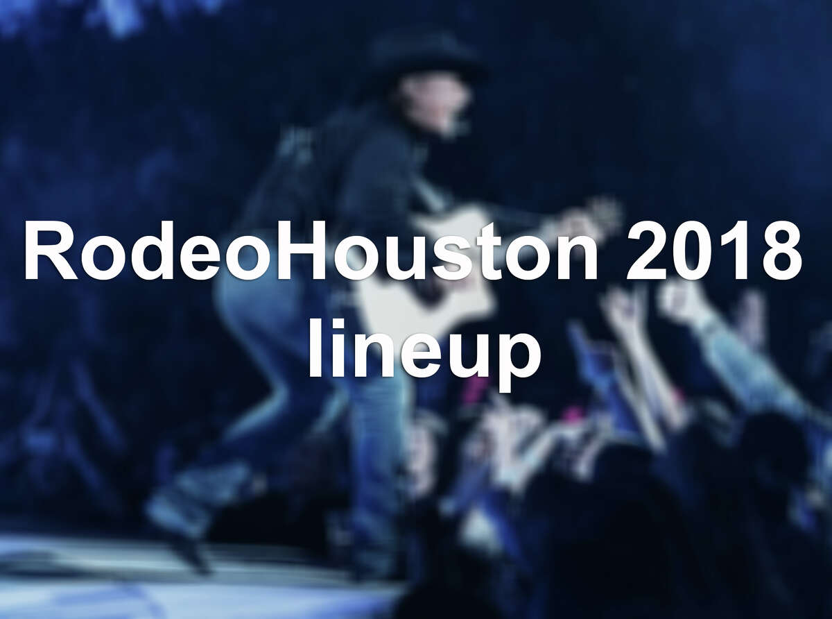 Click through to see the RodeoHouston lineup and paid attendance for acts who have already played.