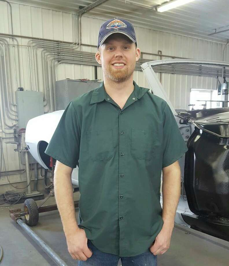 Former Midlander Matt Finn has invented an auto body repair tool that has sold hundreds of units across the country. (photo provided)