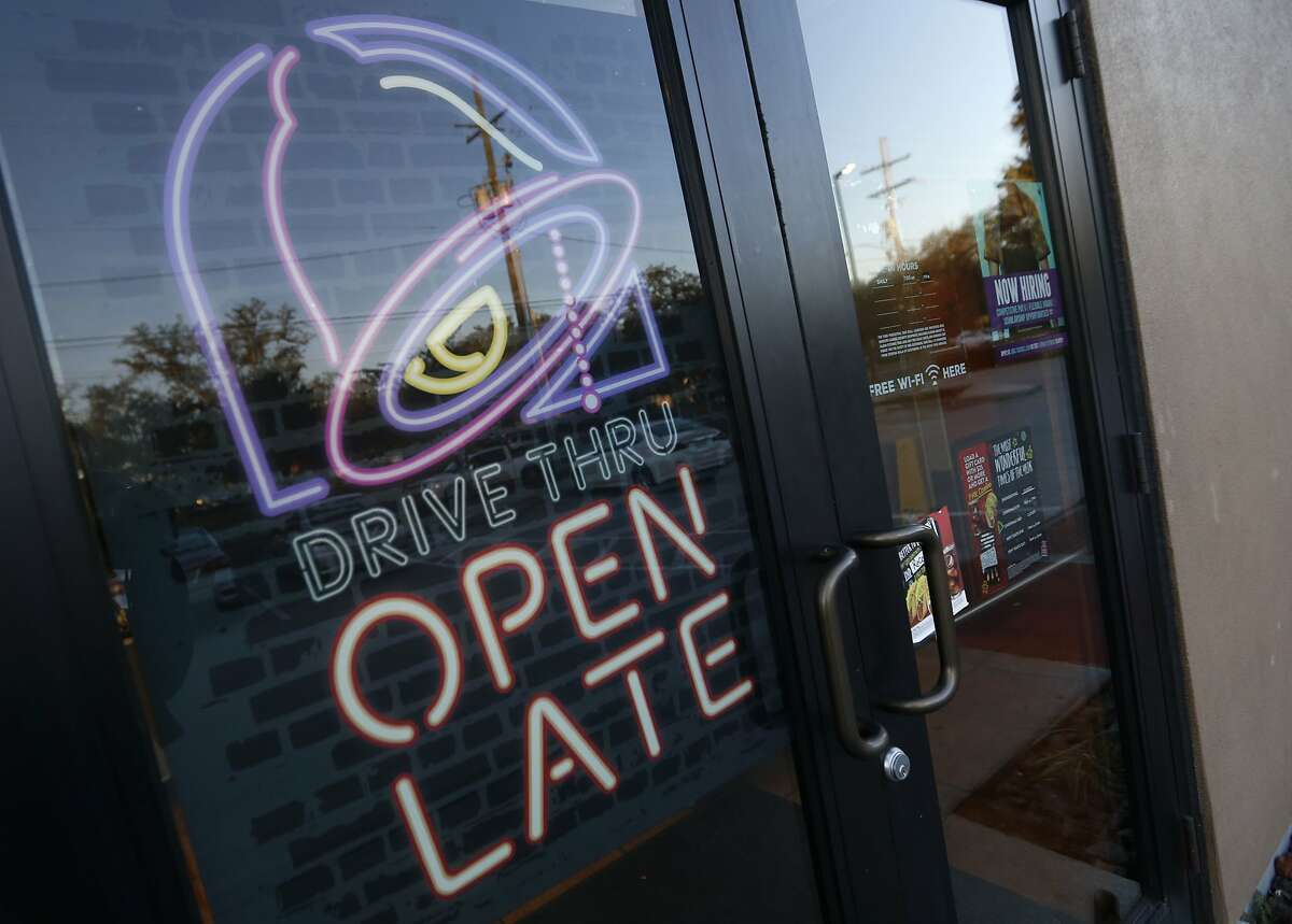 FILE - This Dec. 15, 2016, file photo shows a Taco Bell in Metairie, La. The fast food brand was named best Mexican restaurant in a poll.