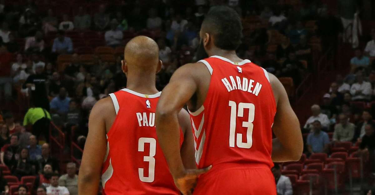 PHOTOS: Rockets game-by-game James Harden has long been the NBA's scoring leader this season. But in his past five games, he has taken that to another level. Browse through the photos to see how the Rockets have fared through each game this season.
