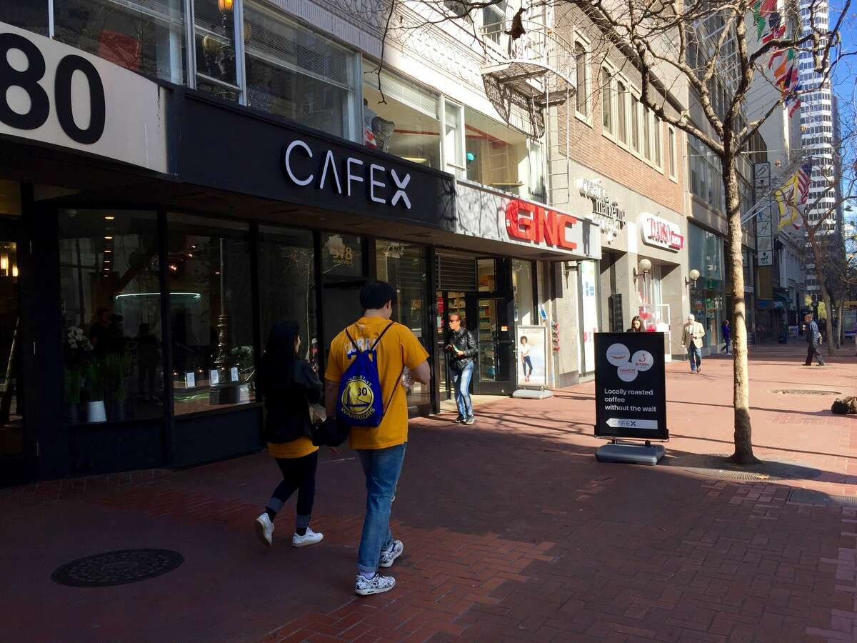 Cafe X, a coffee shop helmed by a robot, opened a brick-and-mortar on Market Street this week.