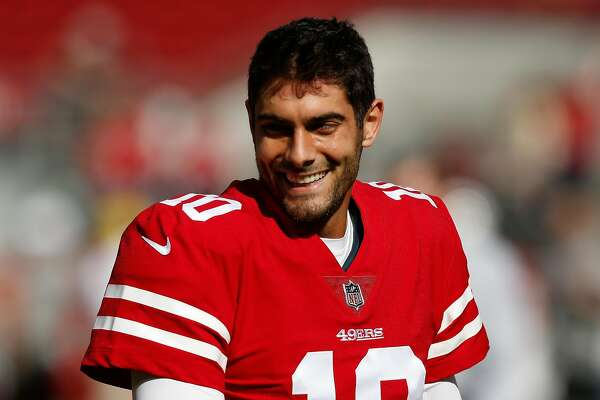 outlet store 2becf bf326 Jimmy Garoppolo comes in 2nd in NFL jersey sales this ...