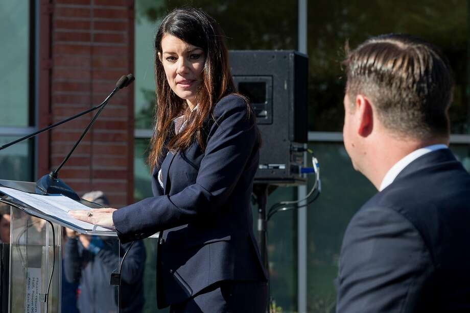 District Two Supervisor Catherine Stefani has responded to a suit seeking to move the election for that seat from November to June. That response is: No way. Photo: Santiago Mejia, The Chronicle