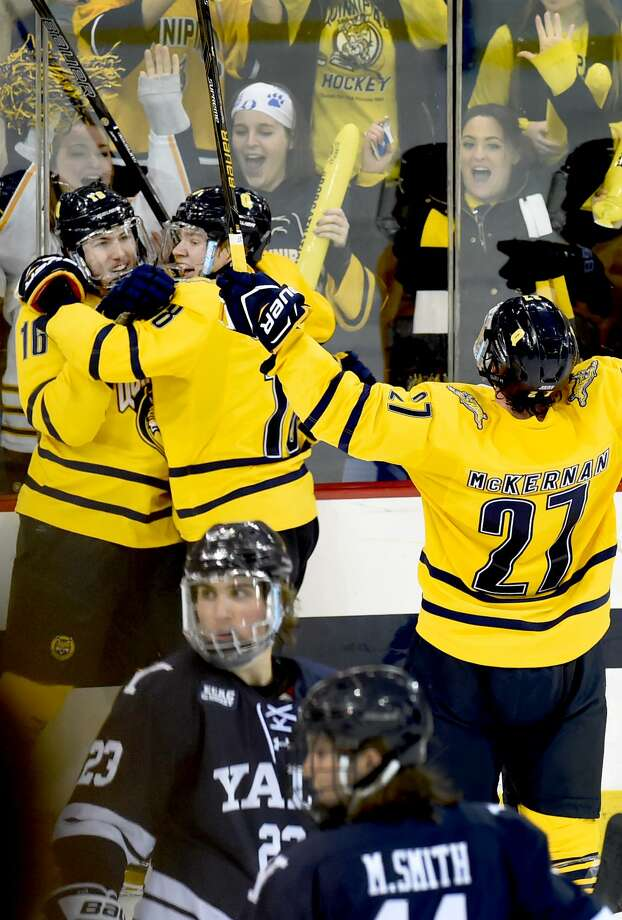 The Quinnipiac and Yale hockey teams will renew their rivalry Friday night at Ingalls Rink. Photo: Peter Hvizdak / Hearst Connecticut Media File Photo / ©2017 Peter Hvizdak