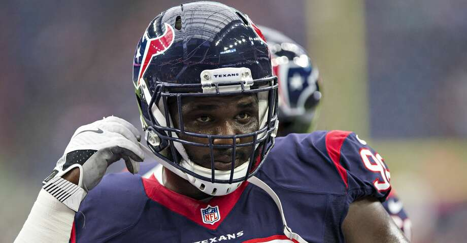 HOUSTON, TX - AUGUST 28:  D.J. Reader #98 of the Houston Texans warms up before a preseason game against the Arizona Cardinals at NRG Stadium on August 28, 2016 in Houston, Texas.  The Texans defeated the Cardinals 34-24.  (Photo by Wesley Hitt/Getty Images) Photo: Wesley Hitt/Getty Images