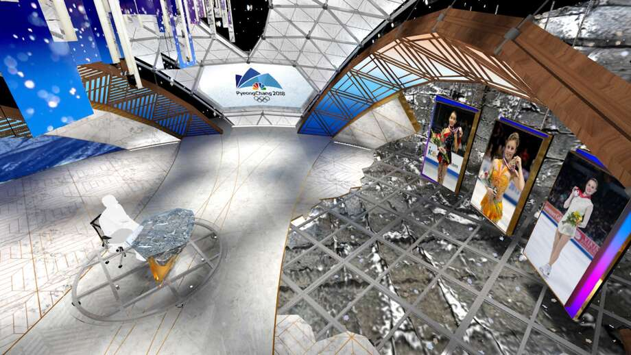 NBC Olympics PyeongChang Games Primetime Studio.