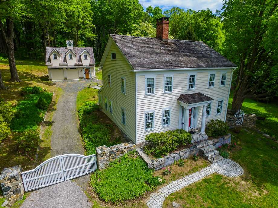 The Brookfield colonial is believed to have been part of the Underground Railroad. The house at 11 Whisconier Road was built in 1754 and originally served as a dairy farm. Photo: Contributed Photo / Hearst Connecticut Media / The News-Times Contributed
