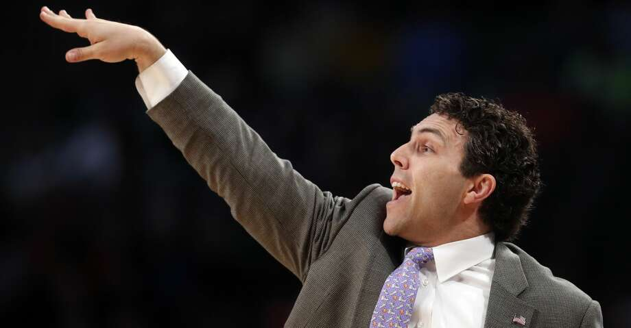 Georgia Tech head coach Josh Pastner directs his players in the first half of an NCAA college basketball game against Clemson, Sunday, Jan. 28, 2018, in Atlanta. (AP Photo/John Bazemore) Photo: John Bazemore/Associated Press
