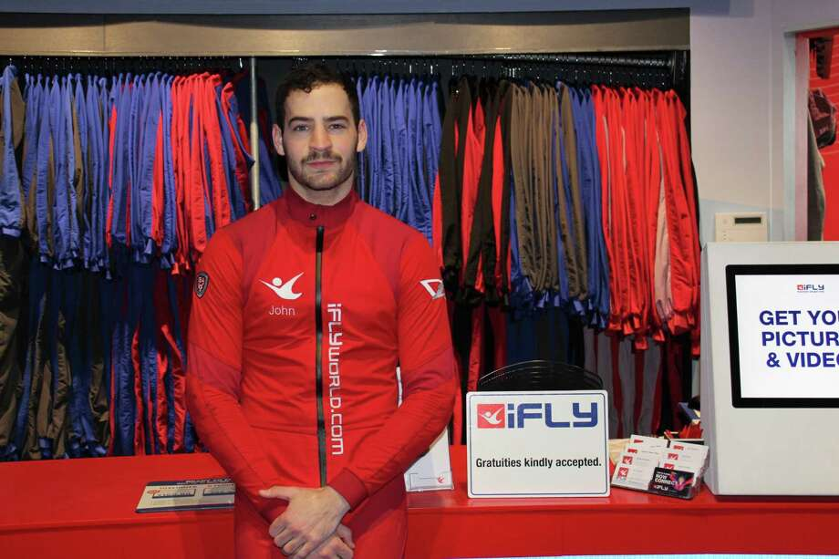 John Wiggins, a flight instructor at iFly Houston in The Woodlands, competes in indoor skydiving competitions and went to the FAI Indoor Skydiving World Championship in October 2017. Photo: Patricia Dillon