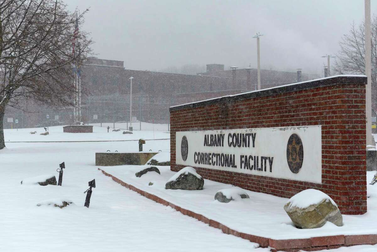 A dozen correctional officers and one medical worker at the Albany County jail have tested positive for coronavirus within the past two weeks, Sheriff Craig Apple said. (Paul Buckowski/Times Union)