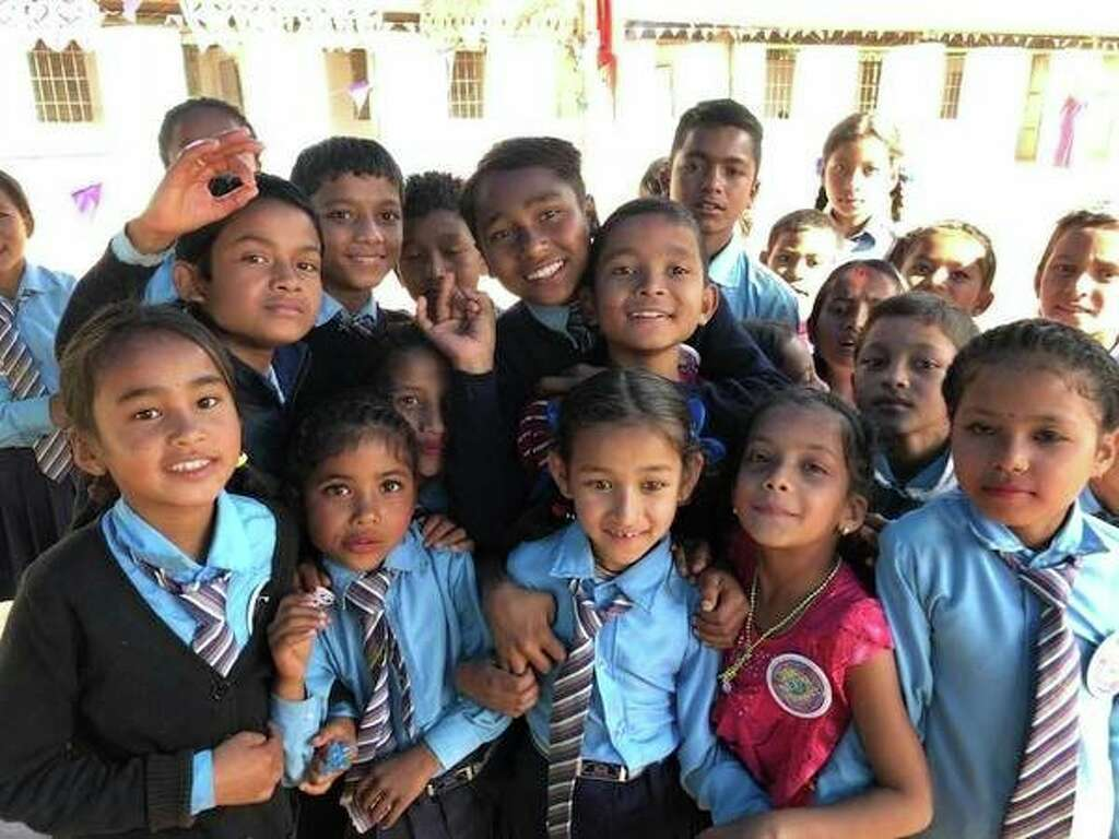 Connecting with Nepal: Midlanders help rebuild school