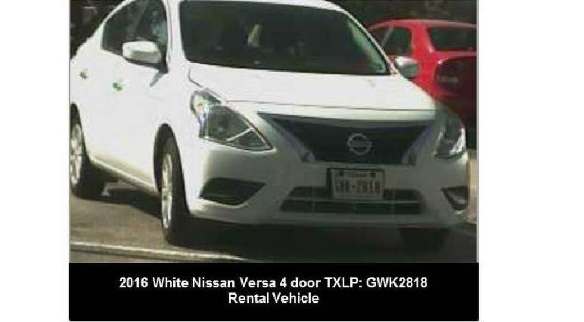 Lavita Gant is believed to be driving a white 2016 Nissan Versa.