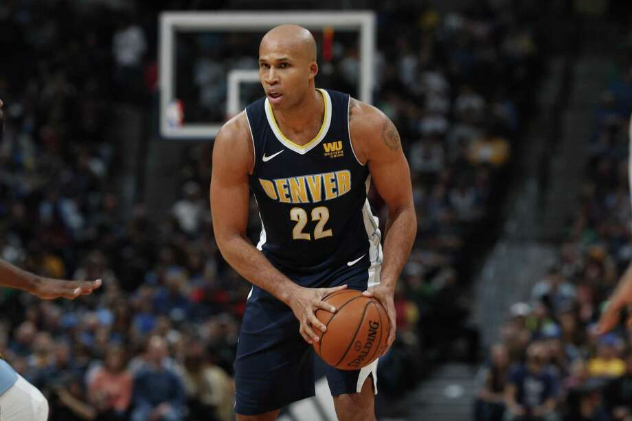 Former Spur Richard Jefferson now plays for Denver. Photo: David Zalubowski /Associated Press / Copyright 2018 The Associated Press. All rights reserved.